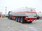 DONGFEGN three axle semi-trailer fuel tanker truck 50000L