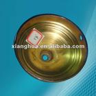 bronzed round dia 124MM steel lampshade