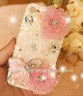 2012 hot sale bling crystal phone case for iphone 4/5