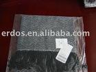 Men's 100% cashmere woven scarf