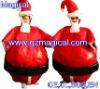 inflatable christmas santa costume