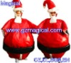 inflatable christmas santa costume