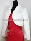 Best Seller Fur Stole with Long Sleeves Elegant Design F-003