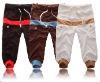 2012 wholesale cropped anti-pilling men's pants CAP054