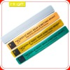 promotion gift custom pvc reflective kids slap band