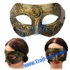 Golden Nostalgic Style Mask For The Coming Halloween
