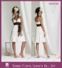 BD0162- 2010 Newest Style Designer Spaghetti strap V Neck short Bridesmaid Dresses