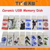 USB flash drive TZ-USB301H USB memory drive Ceram material