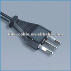 xilyi italy plug 3pin round power cable