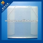 clear elastic file box