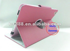 Basketball Design rotatable Leather Case for ipad mini