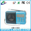 Radio FM speaker with USB LMD-L968 rechargeable