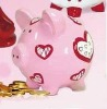 High quality lovely pig-shaped money bank