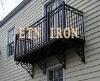 iron railing------ETN R038