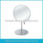 round frameless vanity mirror