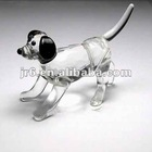 Promotional Crystal Dog Figure in Crafts & Gifts