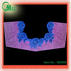 Fashion cotton embroidery design multicolor neck trimming lace - IM2958