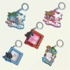 novelty fashion soft pvc keychain