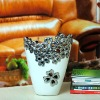 Vietnam ceramic vase hollow out flower vase (02328)