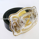 Belt | Initial Letter Z Buckle With Black Genuine Leather Belt