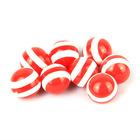 epoxy acrylic/ resin striped beads wholesale yiwu city