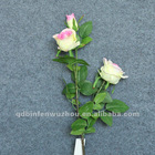 Beautiful Artificial Open Silk Rose Stem, Artificial Open Silk Rose Stem