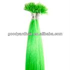 Wholesale Crazy Colored Nail Tip Pre-bonded Hair Extension
