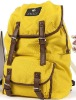 (XHF-BACKPACK-012) stylish canvas backpack