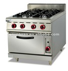 Gas Range with 4-Burner & Oven (GH-787A)
