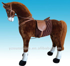 kid plush standing horse like a real horse for kids over 5 years old