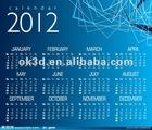 2013 3D lenticular wall calendar for promotion french elegant wall calendar design/magnetic wall calendars/wall hanging calendar