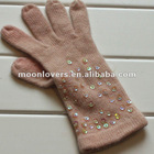 Wholesale knit mittens with pattern