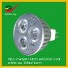 Warranty 3 years High lumens MR16-3*1-W DC12V spotlight lighting