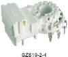 CRT socket GZS10-2-4 electrical socket electric socket waterproof