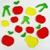 fruit gel sticker