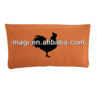 Antique Rooster Cotton Throw Pillow