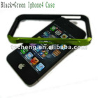 Black Green mobile phone bumper