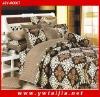 New design Cheap 4PCS 100%cotton King/queen size bedding sets