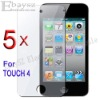 5 x Clear LCD Screen Protector Guard Films For Apple iphone 4g , IP-196