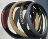 artificial leather steering wheel cover