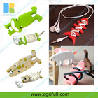 fashionable silicone earphone winder