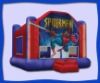 inflatable spiderman moon bounce in stock now A2102