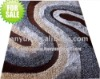 multi-structure polyester shaggy rug