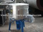 Vertical plastic mixer