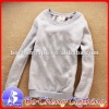 Grey blank hoodies Sport Suit hoodies clothing winter