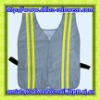 Feflective safety vest with high visibility tape