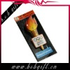 flashing promotional LED torch bagde for party