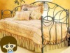 2012 Most style sofa cum bed designs of wrought iron design