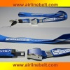 New design fashion airline lanyards for promotion