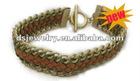 chunky weaven cord fashion bracelet